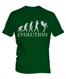 Kickboxing Evolution Mens T-Shirt