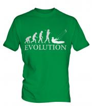 Kitesurfing Evolution Mens T-Shirt