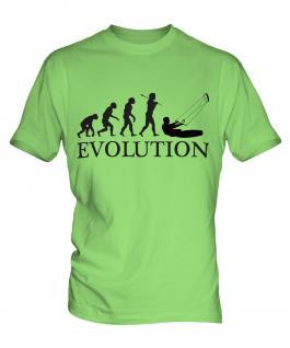 Kitesurfing Evolution Mens T-Shirt