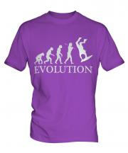 Bodyboarding Evolution Mens T-Shirt