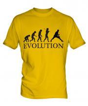 Table Tennis Evolution Mens T-Shirt
