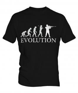 Soldier Evolution Mens T-Shirt