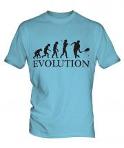 Squash Player Evolution Mens T-Shirt