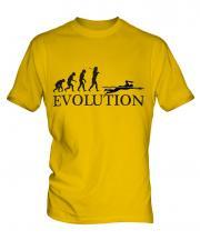 Swimmer Evolution Mens T-Shirt