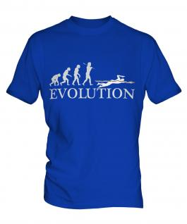 Swimmer Evolution Mens T-Shirt