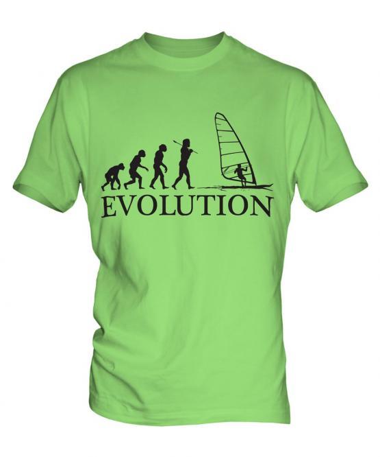 Windsurfing Evolution Mens T-Shirt