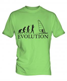 Windsurfing Evolution Mens T-Shirt