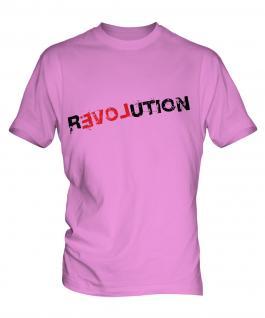 Love Revolution Mens T-Shirt