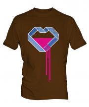 Bleeding Heart Mens T-Shirt