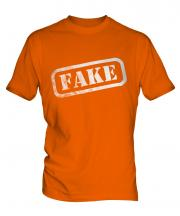 Fake Stamp Mens T-Shirt