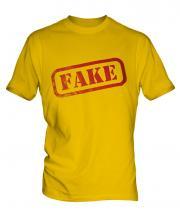 Fake Stamp Mens T-Shirt
