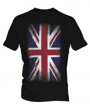Union Jack Faded Flag Mens T-Shirt
