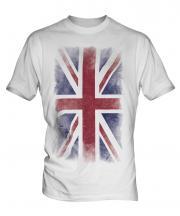 Union Jack Faded Flag Mens T-Shirt