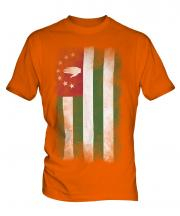 Abkhazia Faded Flag Mens T-Shirt