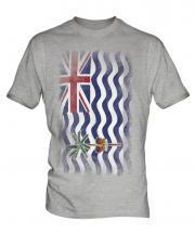 British Indian Ocean Territory Faded Flag Mens T-Shirt