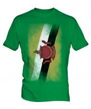 Brunei Faded Flag Mens T-Shirt