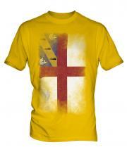 Herm Faded Flag Mens T-Shirt