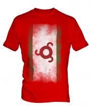 Ingushetia Faded Flag Mens T-Shirt