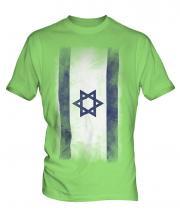 Israel Faded Flag Mens T-Shirt