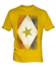 Saba Faded Flag Mens T-Shirt
