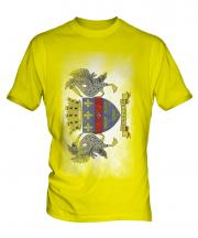 Saint Barthelemy Faded Flag Mens T-Shirt