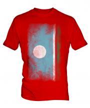 Sakha Republic Faded Flag Mens T-Shirt