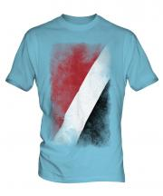 Sealand Faded Flag Mens T-Shirt