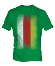 South Ossetia Faded Flag Mens T-Shirt