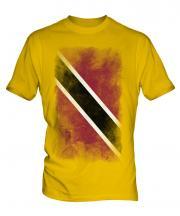 Trinidad And Tobago Faded Flag Mens T-Shirt