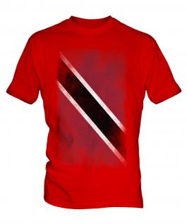 Trinidad And Tobago Faded Flag Mens T-Shirt