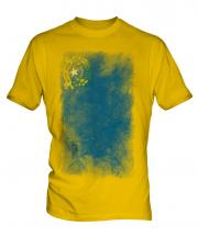 Nevada State Faded Flag Mens T-Shirt
