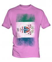 Yukon Faded Flag Mens T-Shirt