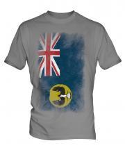 South Australia Faded Flag Mens T-Shirt