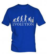 Computer Geek Evolution Mens T-Shirt