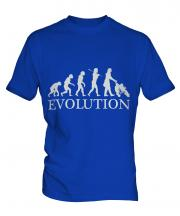 Mum With Pushchair Evolution Mens T-Shirt