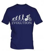 Cycle Racing Evolution Mens T-Shirt