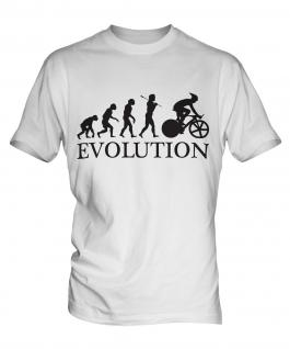 Cycle Racing Evolution Mens T-Shirt