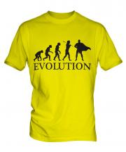 Superhero Evolution Mens T-Shirt