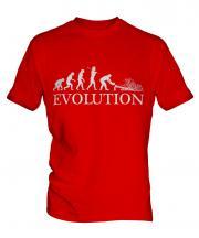 Tree Surgeon Evolution Mens T-Shirt