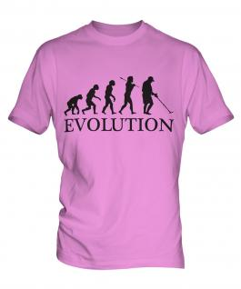 Metal Detector Evolution Mens T-Shirt