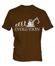 Excavator Evolution Mens T-Shirt
