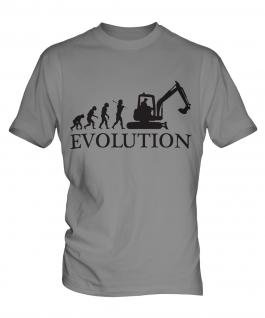 Excavator Evolution Mens T-Shirt