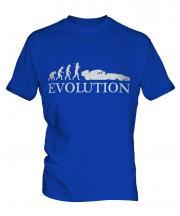 Motor Racing Evolution Mens T-Shirt