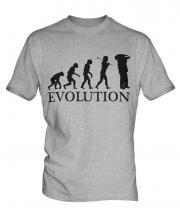 Cameraman Evolution Mens T-Shirt