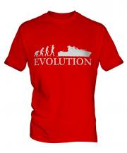 Yacht Evolution Mens T-Shirt