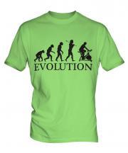 Exercise Bike Evolution Mens T-Shirt