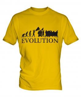 Protest March Evolution Mens T-Shirt