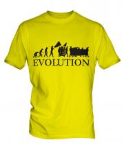 Protest March Evolution Mens T-Shirt