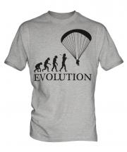 Paraglider Evolution Mens T-Shirt