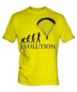 Paraglider Evolution Mens T-Shirt